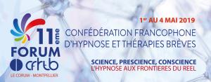 11ème FORUM DE LA CFHTB du 1er au 4 mai 2019 (Montpellier)