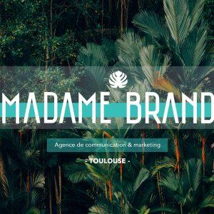 agence de communication Madame Brand